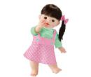 ぽぽちゃん専用 ピンクのドット柄スカート